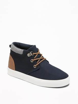 Old Navy Color-Block Mid-Top Sneakers for Boys