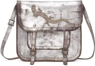 Ralph Lauren Distressed Gecko Cross-body Bag