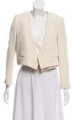 Chloé Open-Front Asymmetrical Blazer