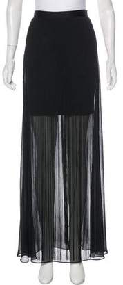 Alice + Olivia Fringe Maxi Skirt w/ Tags