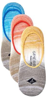 Sperry Cushioned Canoe Sneaker Liners - Pack of 3