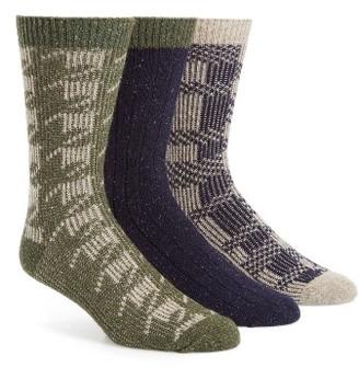 Men's Ugg Assorted 3-Pack Crew Socks $69.50 thestylecure.com