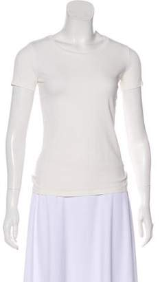 Max Mara Weekend Short Sleeve Scoop Neck T-Shirt