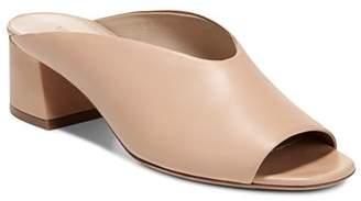Vince Women's Cachet Leather Slide Sandals