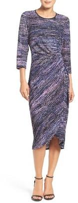 Women's Maggy London Faux Wrap Dress $118 thestylecure.com
