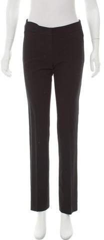 Christian Dior Mid-Rise Straight-Leg Pants
