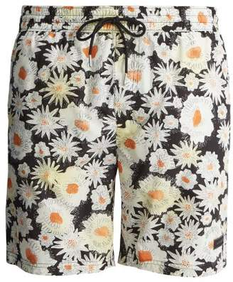 Burberry Daisy Print Swim Shorts - Mens - Multi