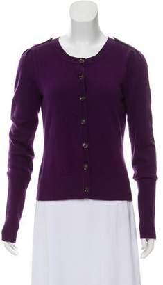 Diane von Furstenberg Morag Wool Button-Up Cardigan