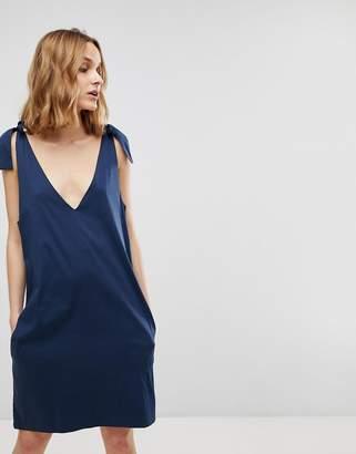 Rsum Resume Arletta Bow Strap Slip Dress