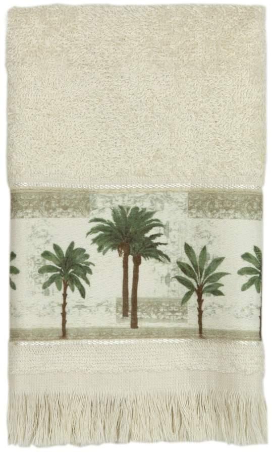 Citrus Palm Fingertip Towel