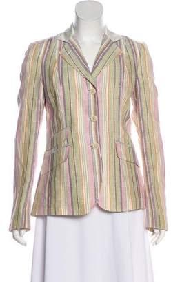 Etro Woven Striped Blazer