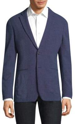 Theory Seersucker Wool Sportcoat