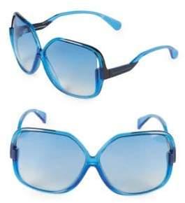 Diane von Furstenberg Jayda 62MM Oversized Square Sunglasses