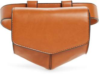 Leith Faux Leather Utility Belt Bag
