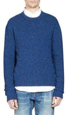 Ami Knit Wool Sweater