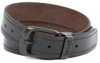 Levi's Double Threaded Needle Leather Belt