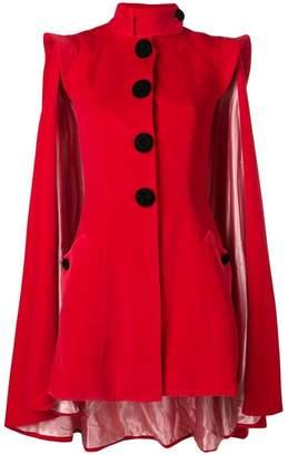 Palomo Spain velvet cape jacket