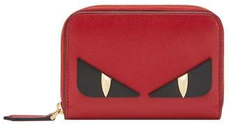 Fendi mini zip-around wallet