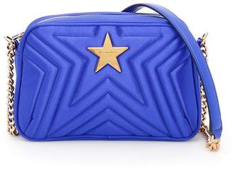 cfbcd4bc0adf Stella McCartney Quilted Satin Stella Star Bag