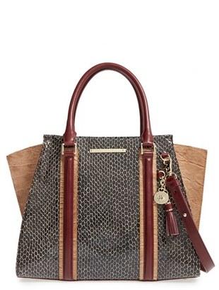 Brahmin 'Priscilla' Leather Satchel $435 thestylecure.com