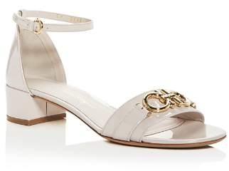 Salvatore Ferragamo Women's Como Ankle Strap Block-Heel Sandals