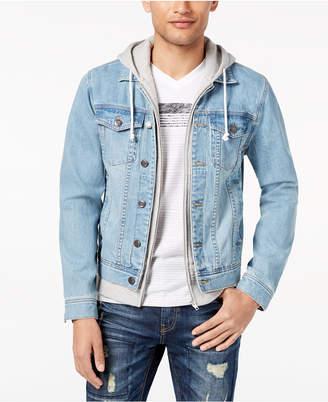 American Rag Men's Layered-Look Trucker Jacket, Created for Macy's
