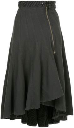 Hysteric Glamour ruffle asymmetric skirt