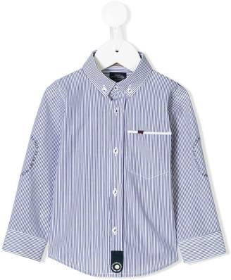Lapin House button down striped shirt