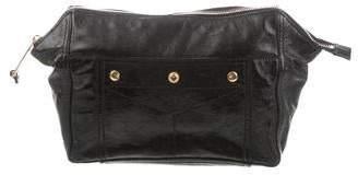 Saint Laurent Patent Leather Cosmetic Pouch