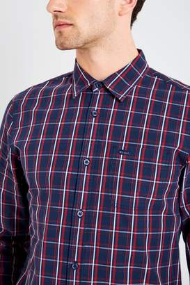 Jack Wills Blanford Poplin Plaid Shirt