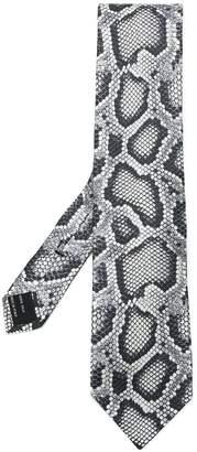 Tom Ford snake print tie