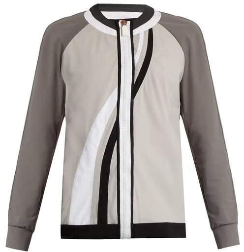 NO KA 'OI NO KA'OI Nola zip-through performance jacket