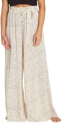 Billabong Happy Dance Stripe Wide Leg Pants