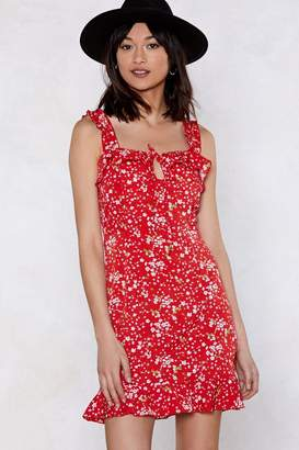 Nasty Gal How's It Growing Floral Dress