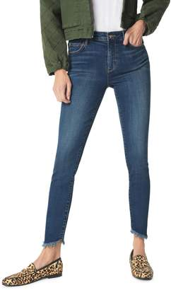 Sam Edelman The Kitten Frayed Ankle Skinny Jeans