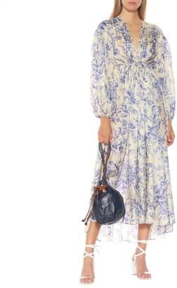 Zimmermann Verity printed silk midi dress