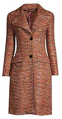 Etro Women's Multi-Tweed Princess Coat