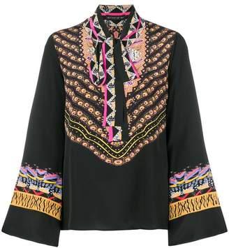 Etro pussy bow blouse