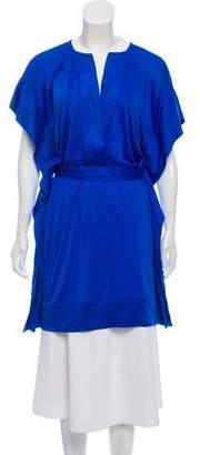 Diane von Furstenberg Oversize Silk Tunic