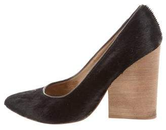 Matt Bernson Ponyhair Pointed-Toe Pumps