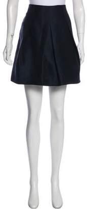 Valentino Pleated Mini Skirt Pleated Mini Skirt