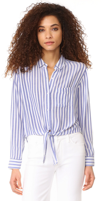 RAILS Val Stripe Button Down Shirt $144 thestylecure.com