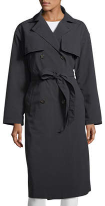 Moncler Roche Double-Breasted Trench Coat