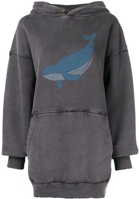 Balenciaga (バレンシアガ) - Balenciaga オーバーサイズ クジラ パーカー