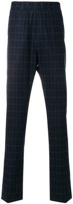 Bottega Veneta dark navy wool cashmere pant