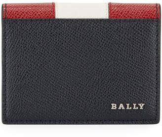 Bally Men's Talder Trainspotting-Stripe Leather Wallet