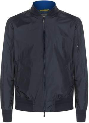 Canali Water Resistant Bomber Jacket