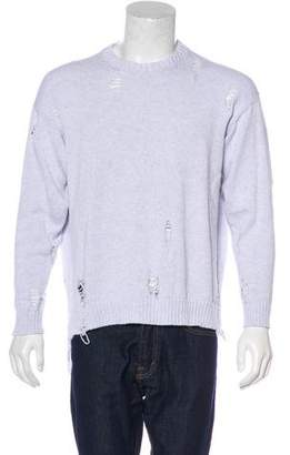 Miharayasuhiro Distressed Knit Sweater