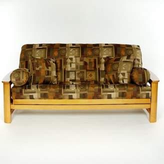 LSCovers Alexis Box Cushion Futon Slipcover