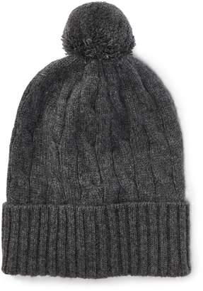 01a2a24ce02 Ralph Lauren Cable-Knit Cashmere Beanie